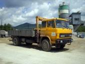 Doprava - LIAZ s hydraulickou rukou na prepravu tovaru